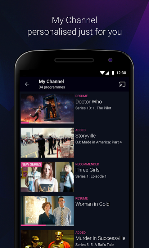BBC iPlayer 4.38.0.3 Screen 3