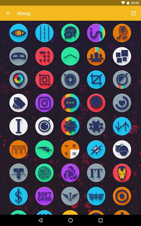 Android Almug - Icon Pack Screen 13