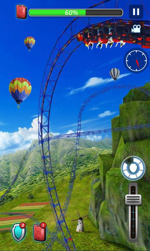 Roller Coaster 3D 1.0.3 Screen 2