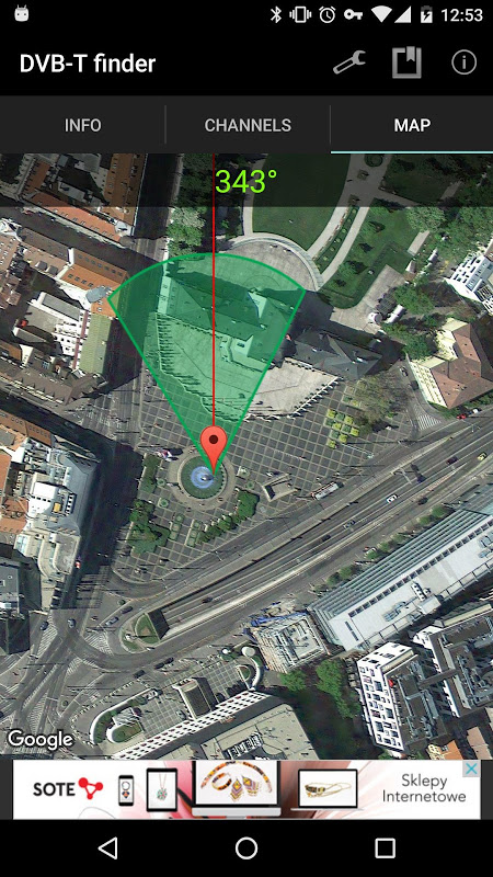 DVB-T finder 1.68 Screen 3