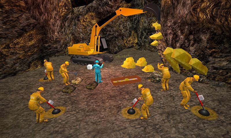 Gold Mine Construction Zone 3D: Crane Operator Sim 1.0.5 Screen 1