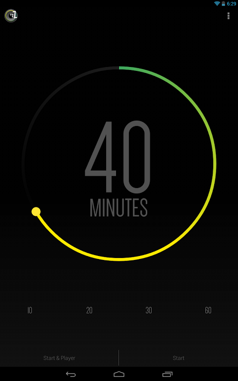 Sleep Timer (Turn music off) 2.0.3 Screen 1