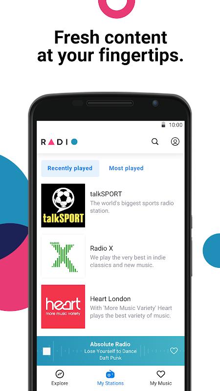 Radio by Deezer: FM Stations & Online Radio Player 1.1.1 Screen 2