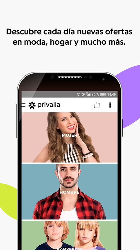 Android Privalia - Outlet de moda con ofertas de hasta 70% Screen 3
