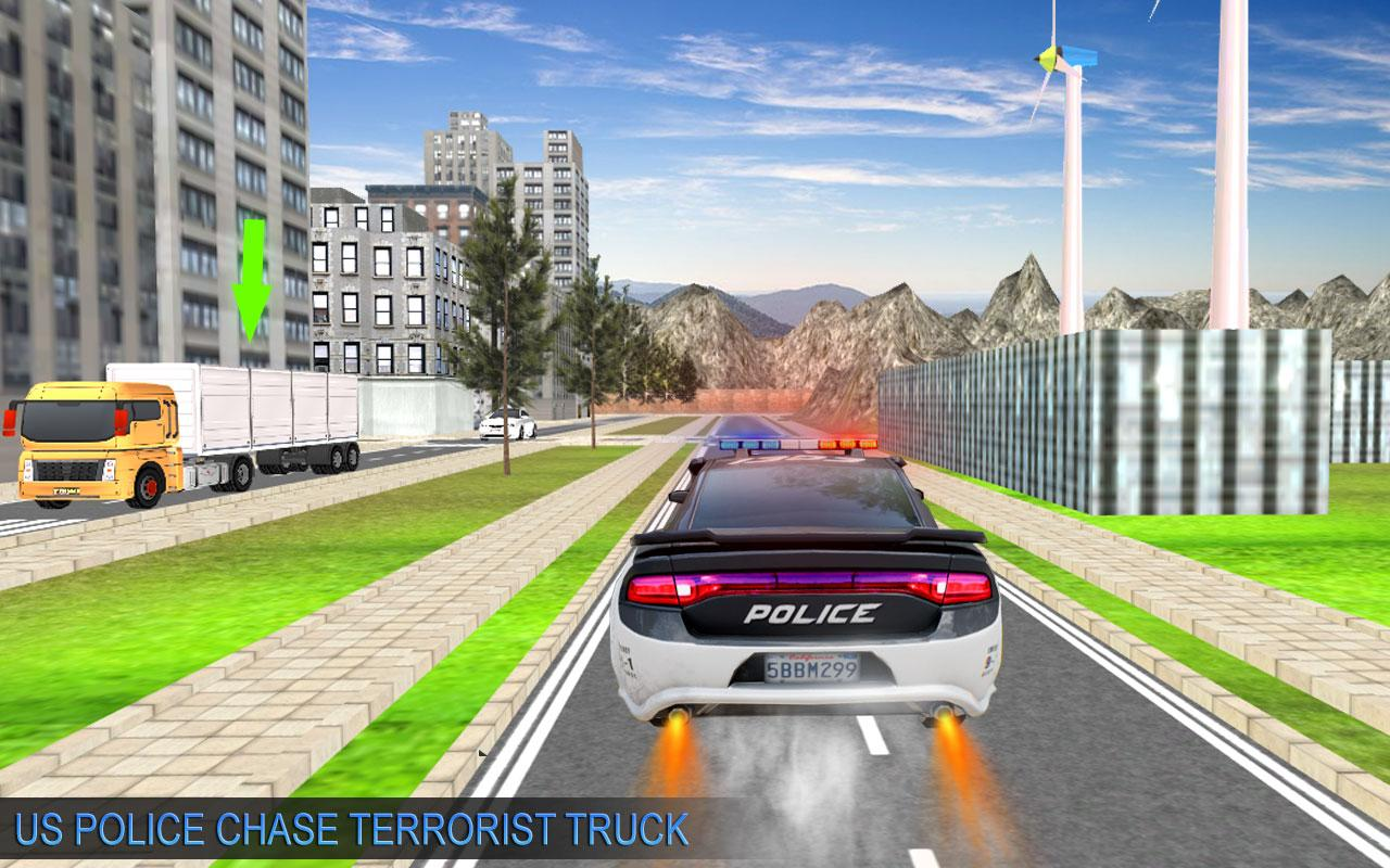 US Police Moto ATV Quad Bike Transporter Game 1.0 Screen 3