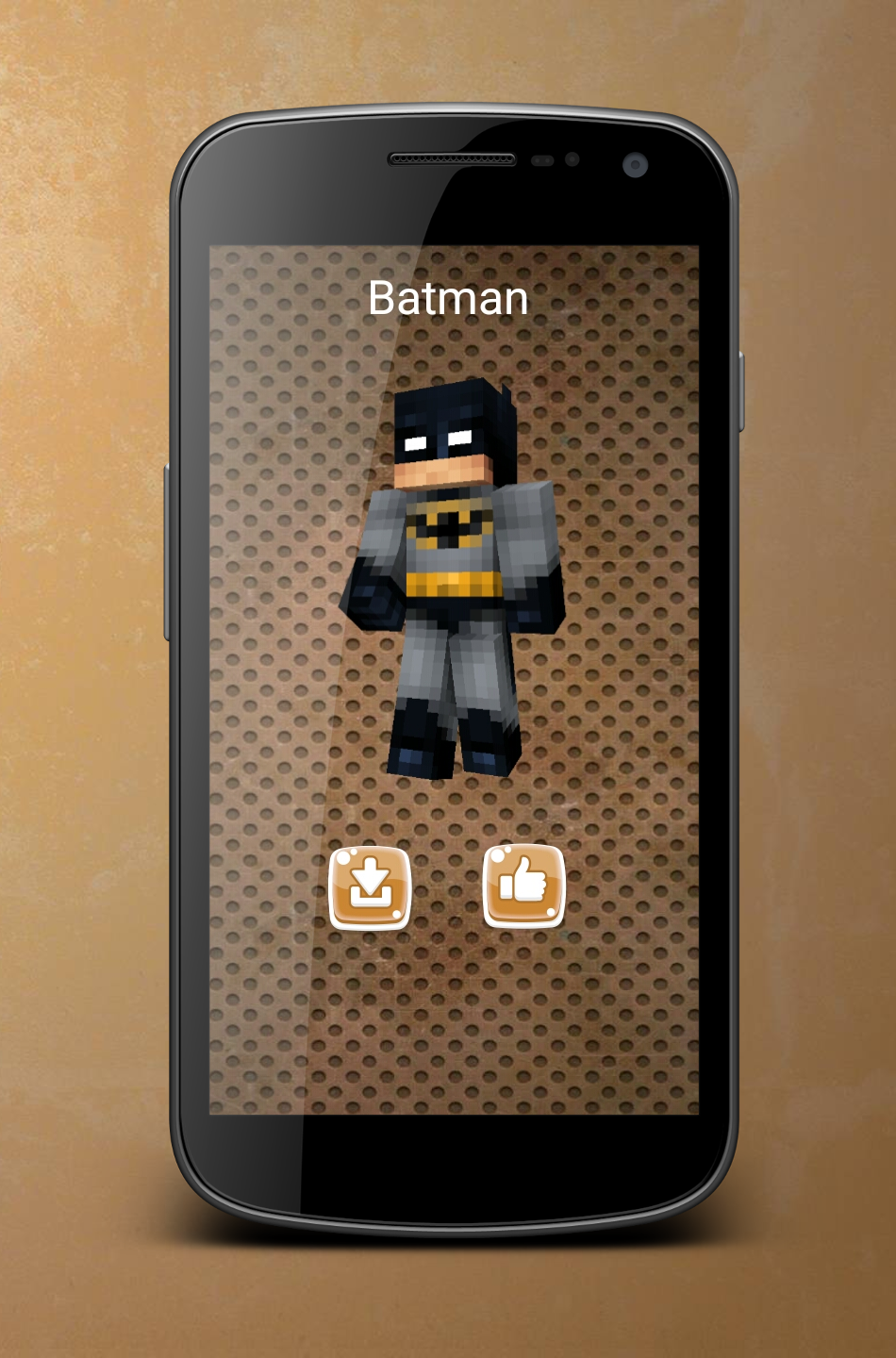 Android Superhero Skins for Minecraft Screen 1
