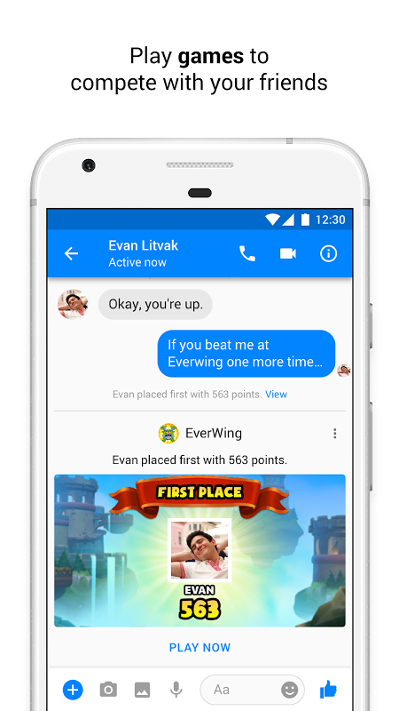 Messenger – Text and Video Chat for Free 154.0.0.2.92 Screen 1