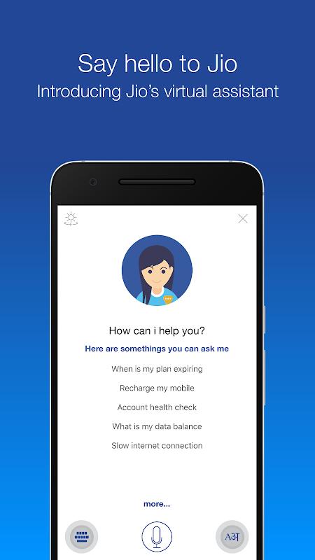 Android MyJio Screen 2