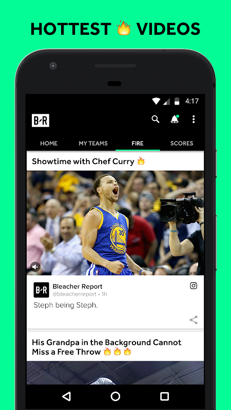 Android Bleacher Report Screen 7