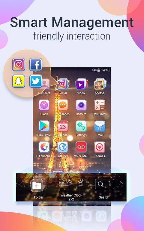 Android U Launcher Pro-NO ADS Screen 5