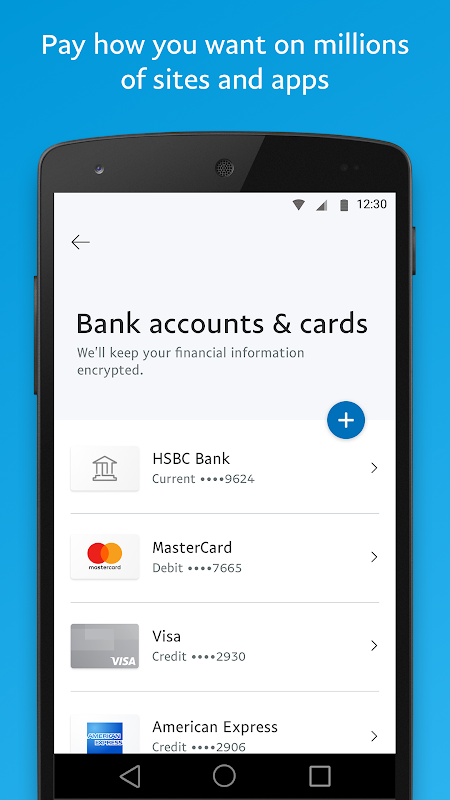 PayPal 7.2.0 Screen 3