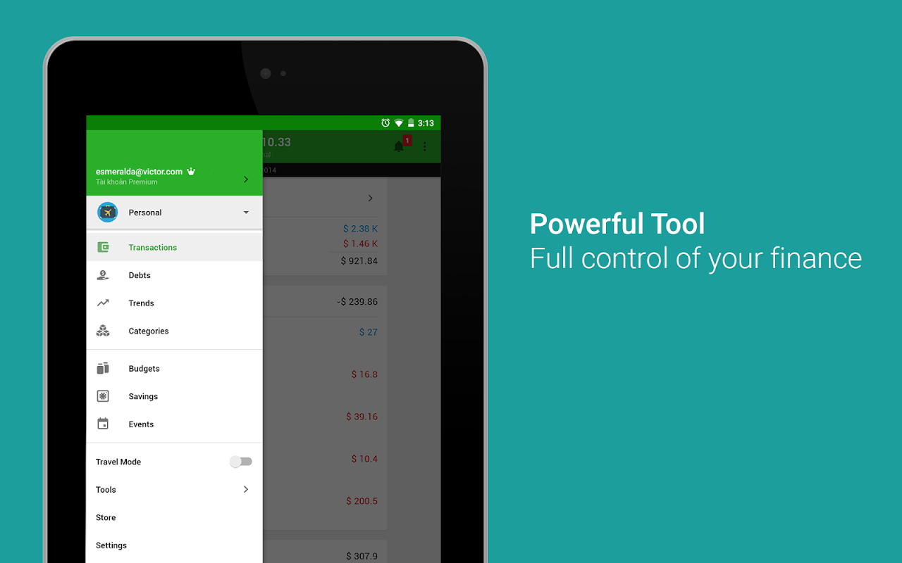 Android Money Lover - Money Manager Screen 21