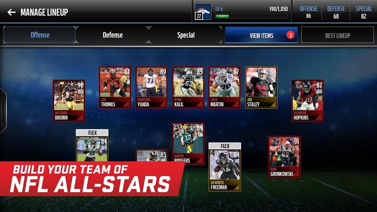 Madden NFL Mobile 3.8.3 Screen 4