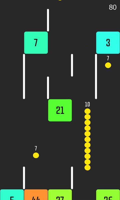 Android Snake VS Block Screen 2