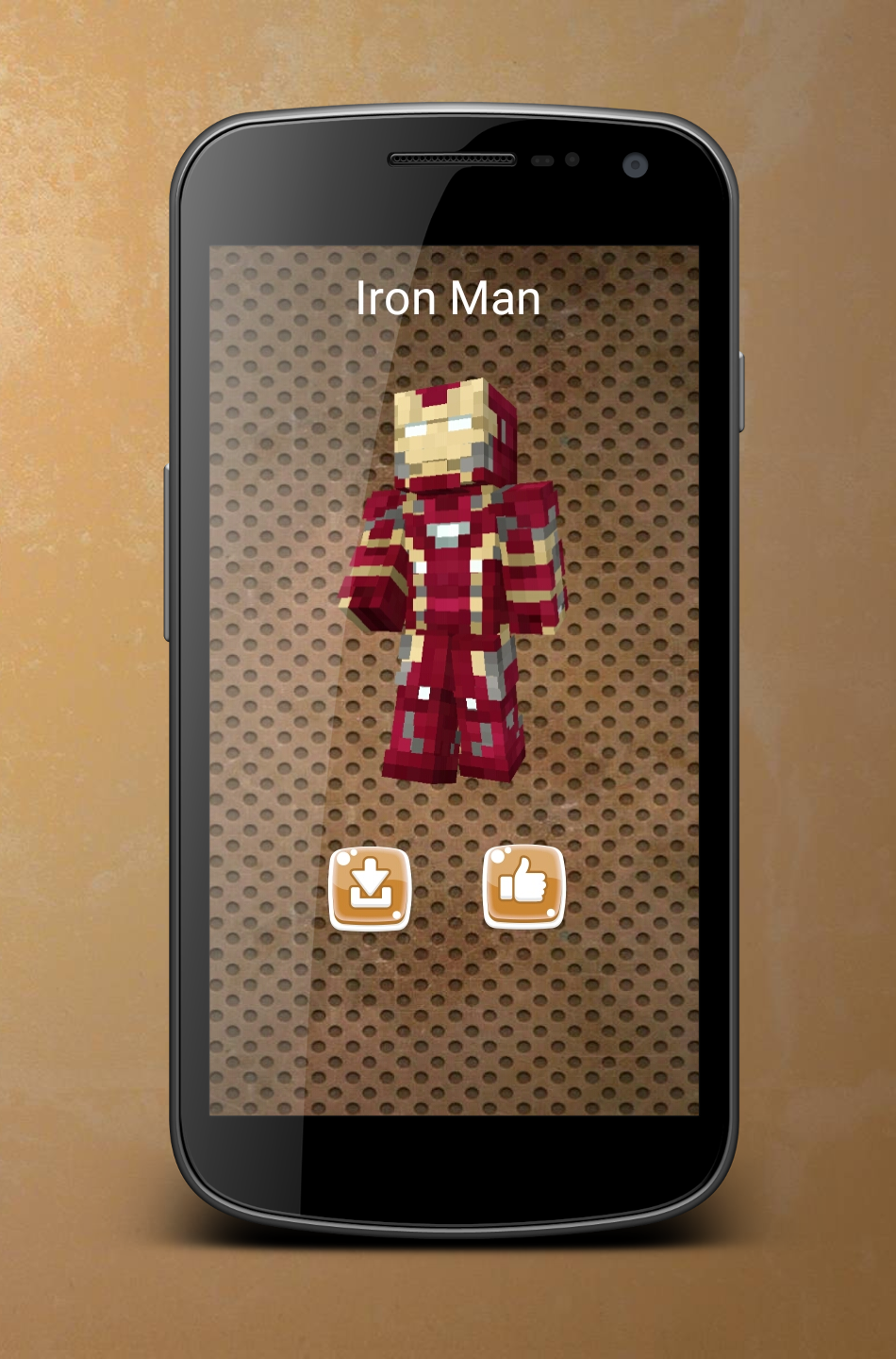 Android Superhero Skins for Minecraft Screen 6