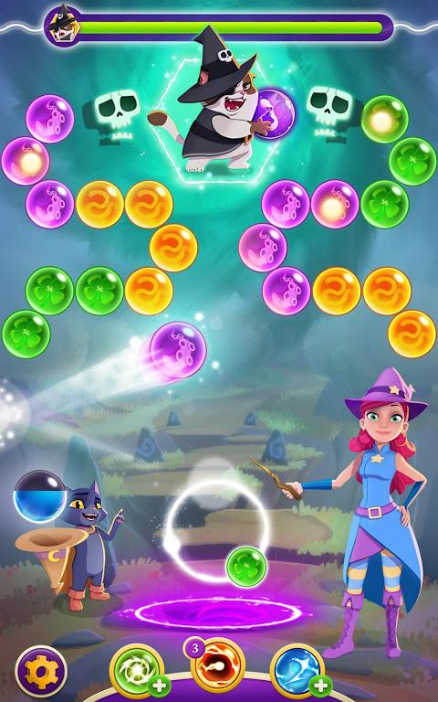 Bubble Witch 3 Saga 5.8.3 Screen 2