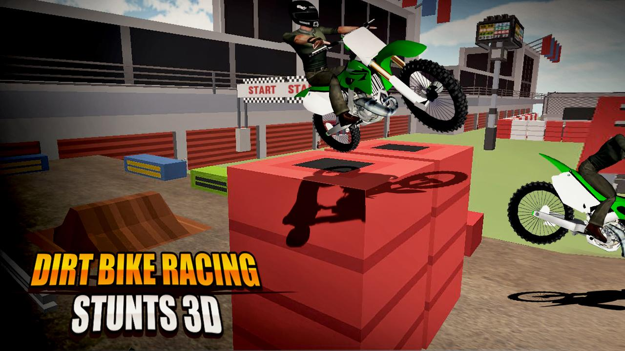 Dirt Bike Racing Stunts 3D 1.2 Screen 2