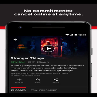 Android Netflix Screen 2