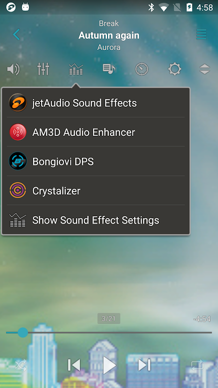 Android jetAudio HD Music Player Plus Screen 3