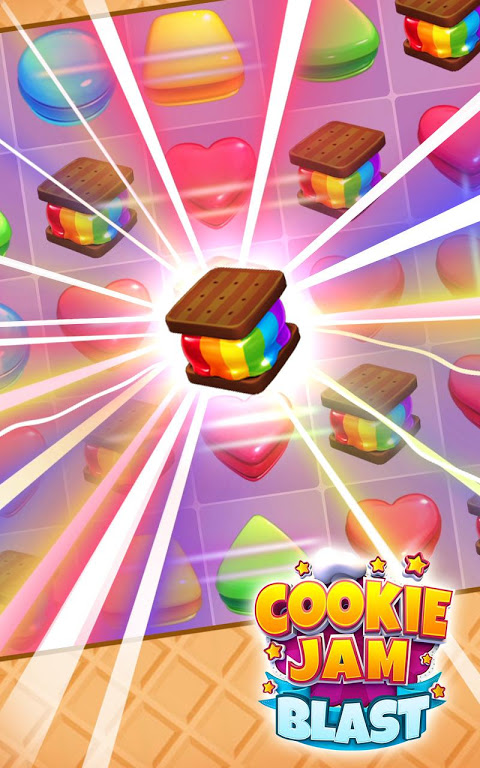 Cookie Jam Blast - Match & Crush Puzzle 3.80.134 Screen 1