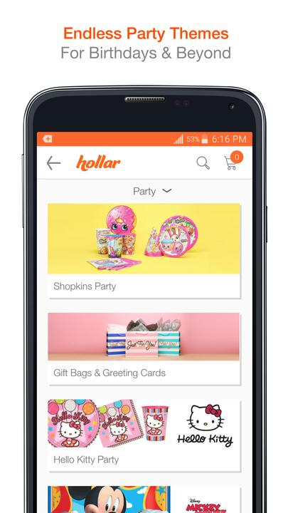 Hollar - Dollar Store Deals, Discount Shopping 1.13.01.00 Screen 2