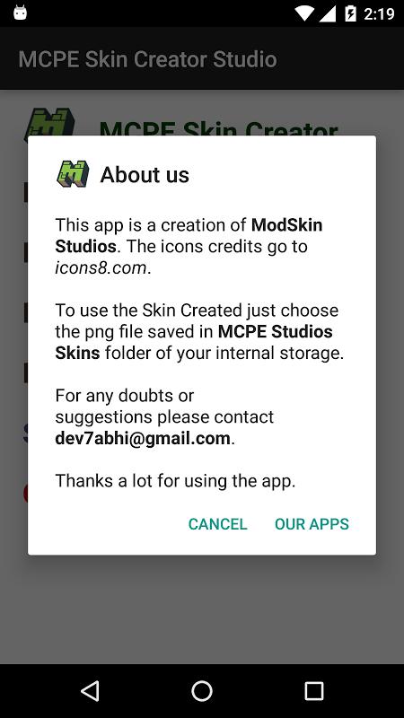 MCPE Skin Creator Studio 1.1 Screen 2