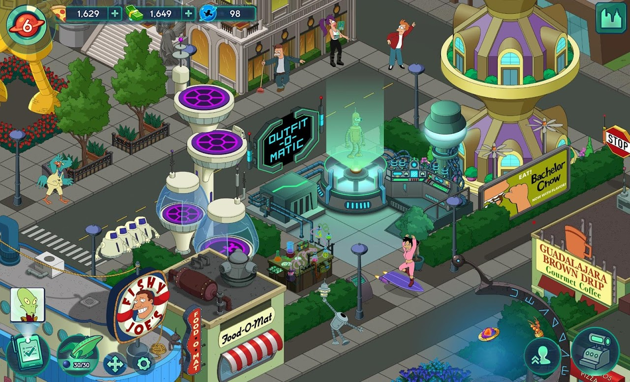 Android Futurama: Worlds of Tomorrow Screen 13