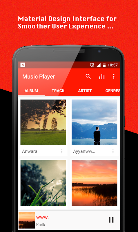 Music Player 1.6.6 Screen 1