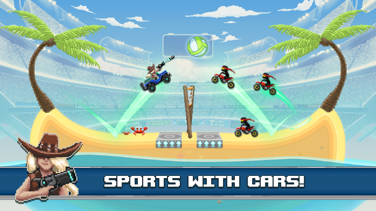 Android Drive Ahead! Sports Screen 11