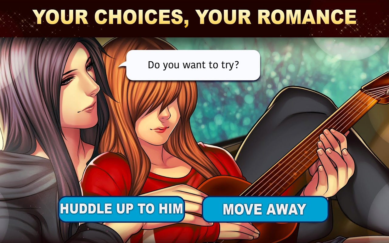 Android Is-it Love? Colin: Choose your story - Love & Rock Screen 5