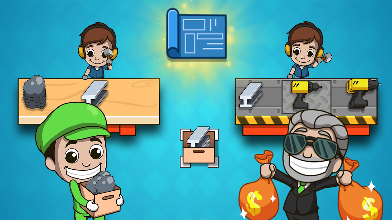 Android Idle Factory Tycoon Screen 3
