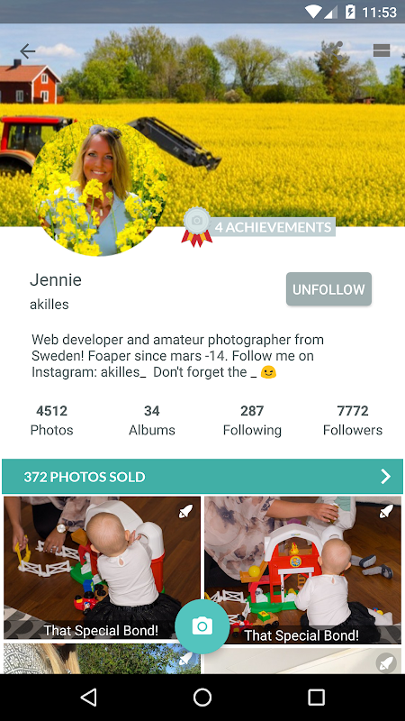 Android Foap - sell your photos Screen 6