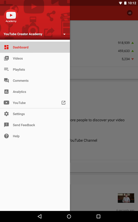 YouTube Creator Studio 17.23.300 Screen 9