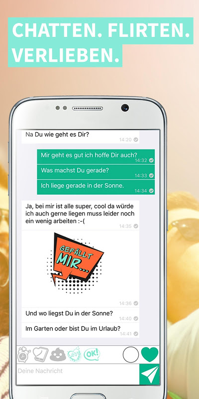 yoomee - Flirt Dating Chat App J19.M3.T11.R1 Screen 3