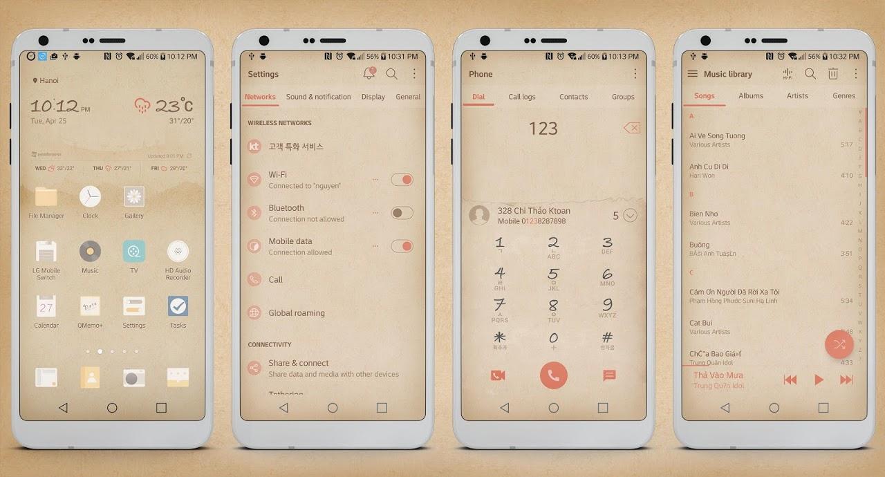 Paper Box Theme LG G6 V20 G5 V30 APKs | Android APK