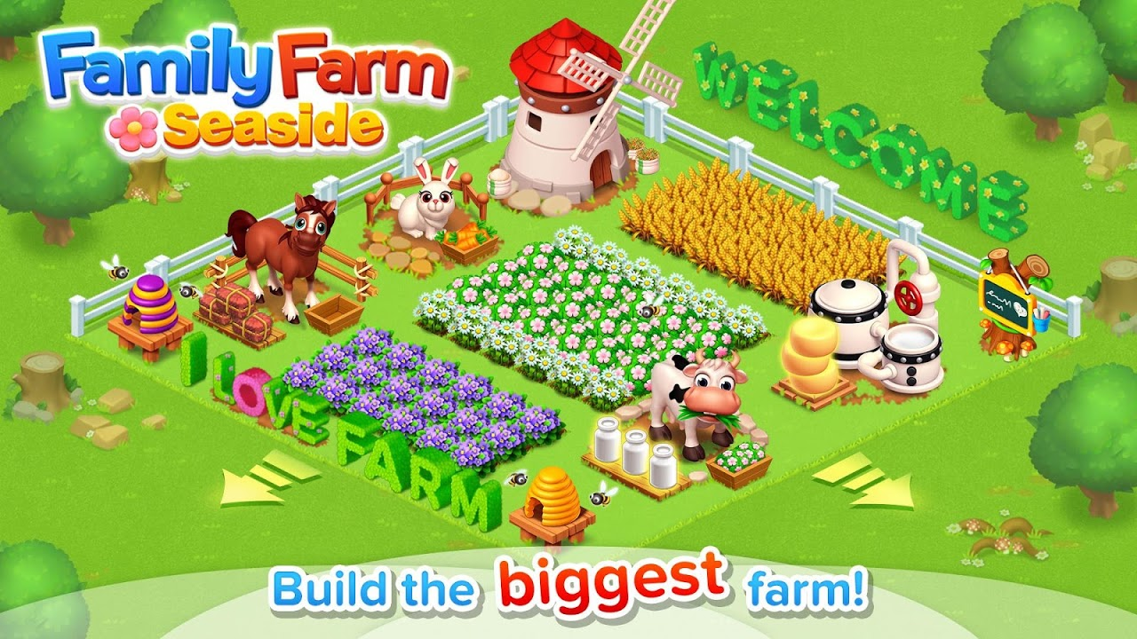 Android Family Farm Seaside Screen 6