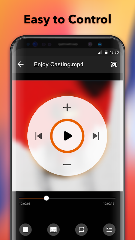 Cast to TV - cast to Chromecast, cast videos to tv 1.1.2.7 Screen 2