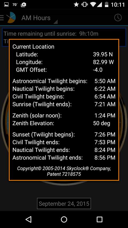 Skyclock 1.3-phone Screen 4