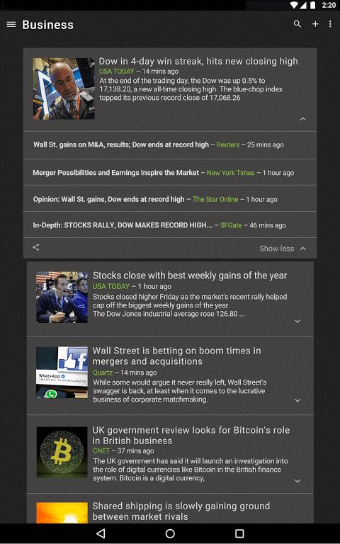 Google News & Weather 2.8.5 (136063537) Screen 7