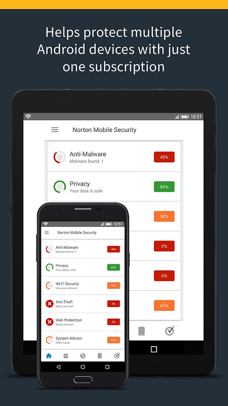 Android Norton Security and Antivirus Screen 6