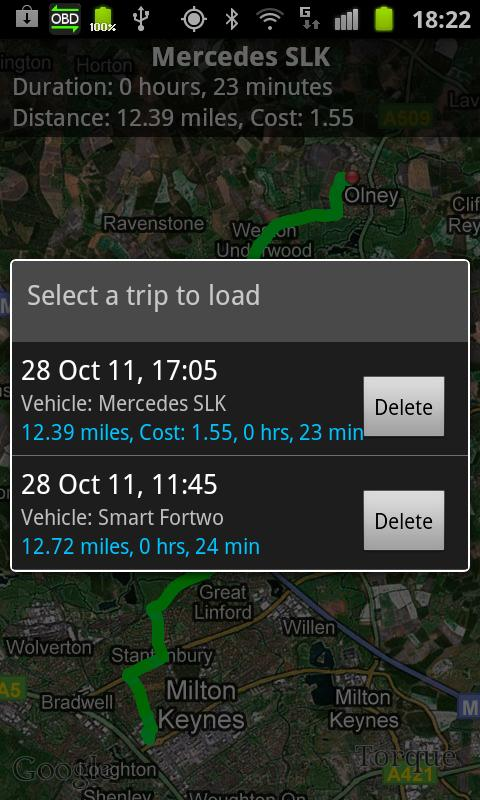 Android Torque Pro (OBD 2 & Car) Screen 3