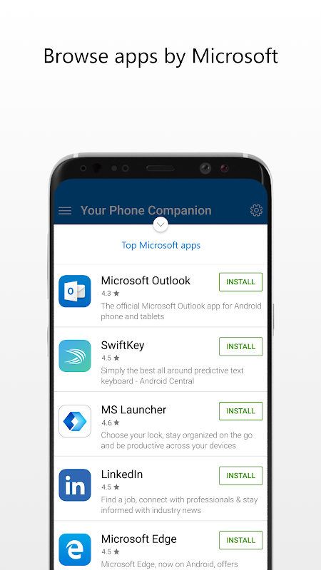 Microsoft Apps 3.3.1 Screen 3