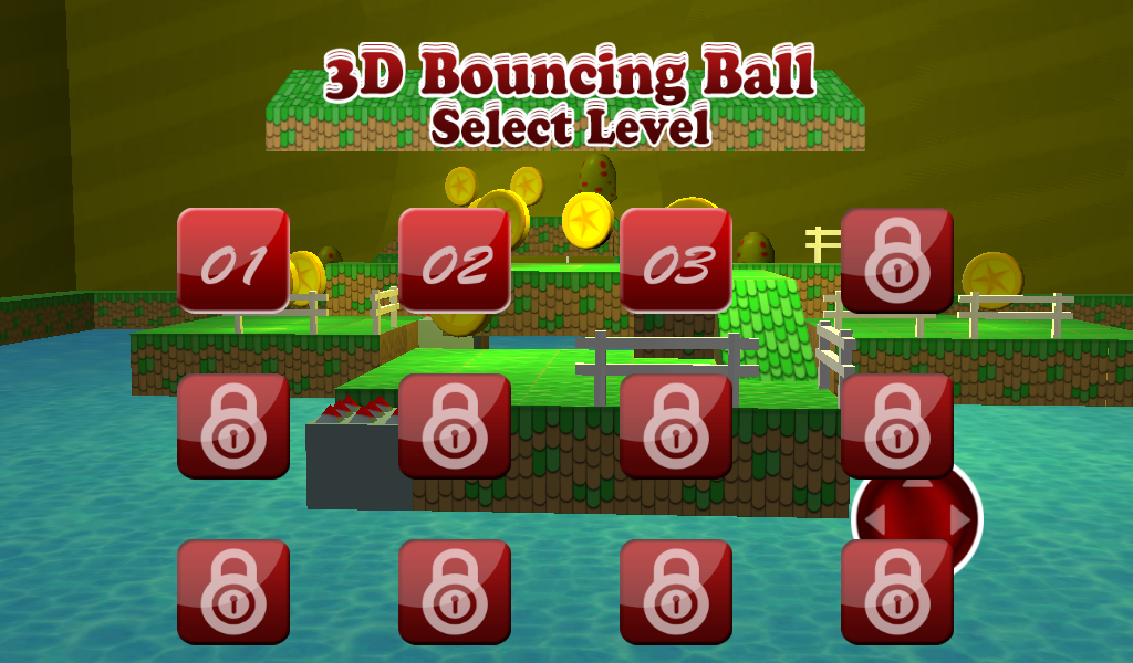Android 3D Bouncing Ball Free Screen 14
