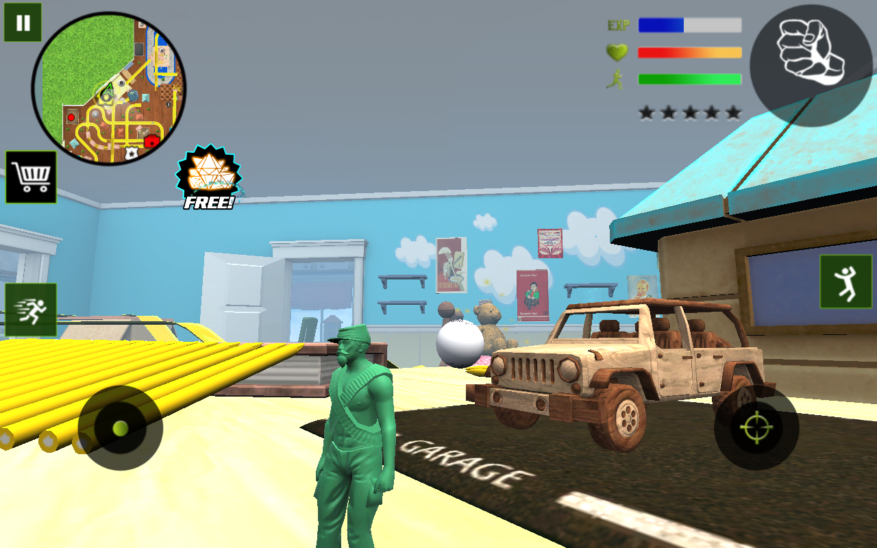 Army Toys Town 1.0 Screen 2