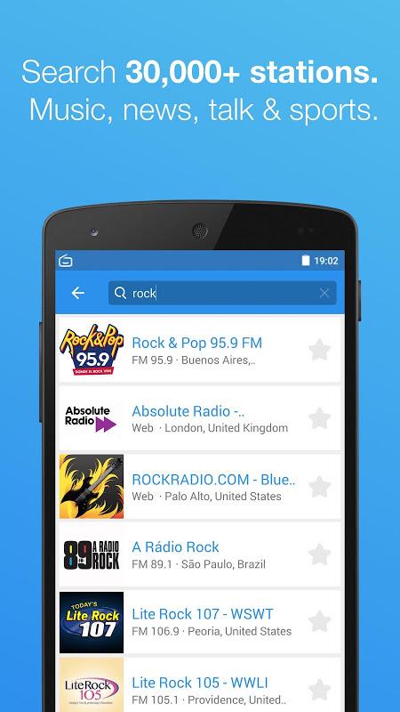 Simple Radio - Free Live FM AM Radio & Music 2.6.2 Screen 2