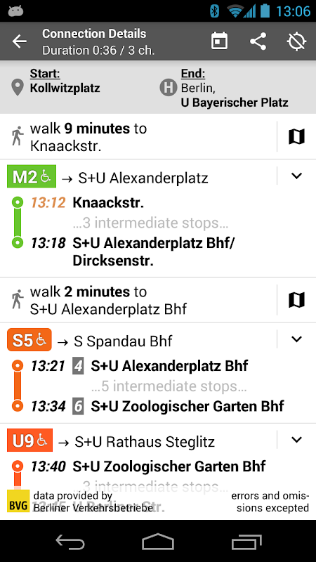 Offi - Journey Planner 10.1.4-google Screen 9