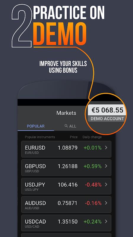 Libertex Online Trading app 2.17.1 Screen 2