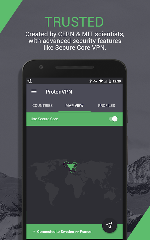ProtonVPN – advanced online security for everyone 1.3.5 Screen 2