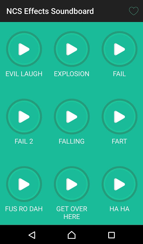 NCS - Best Audio Effects Soundboard for videos APKs
