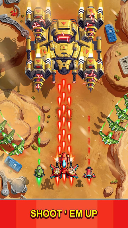 Space Squad : Galaxy Attack of Strike Force 7.8 Screen 3